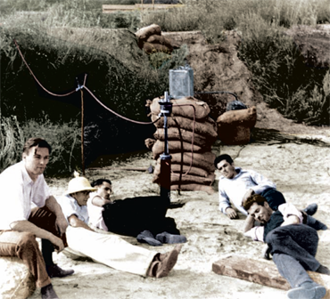 In 1936 a team of Caltech students and researchers began rocket experiments at a rugged site that grew to become JPL