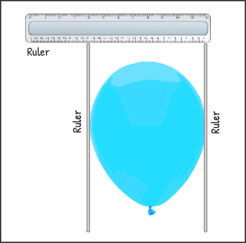 Balloon measurement diagram