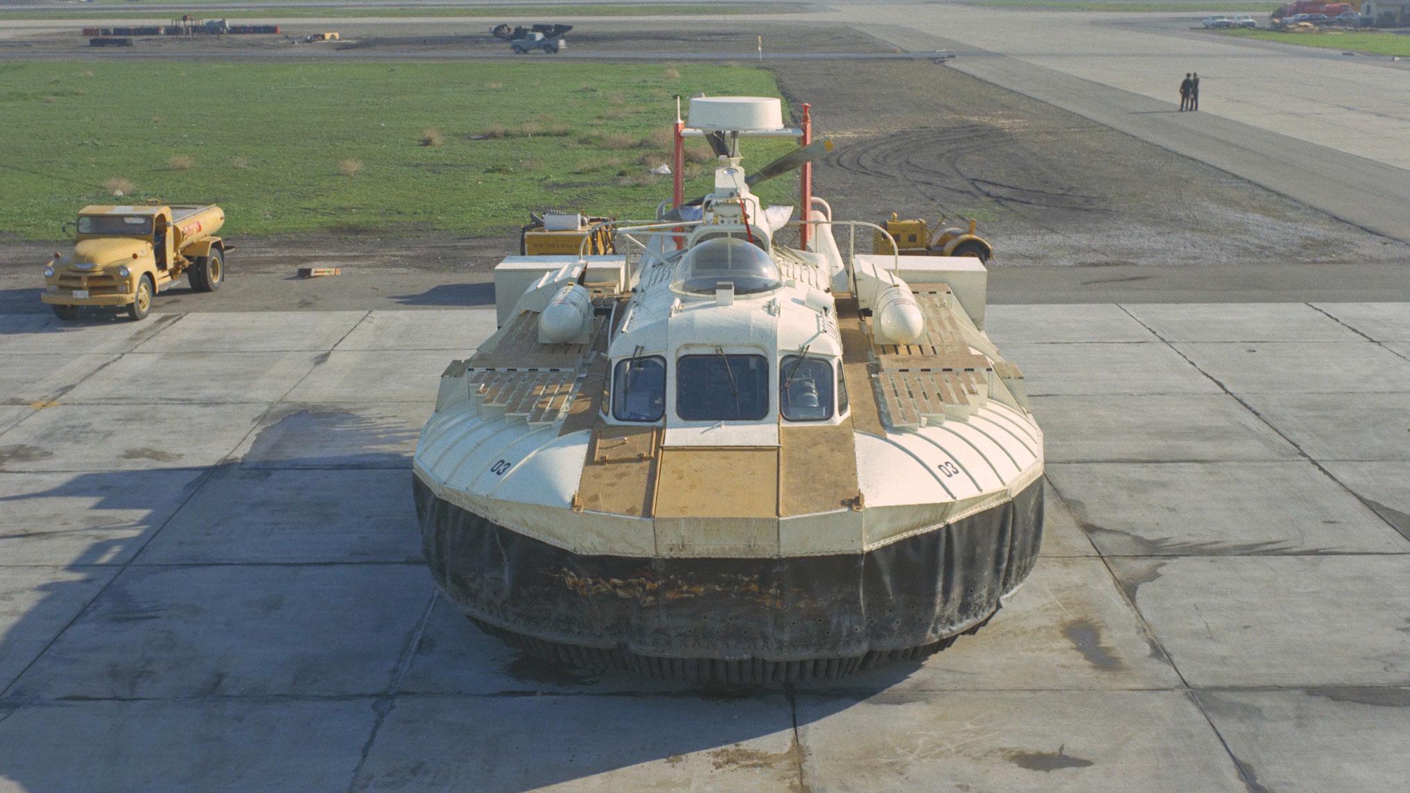 NASA hovercraft vehicle