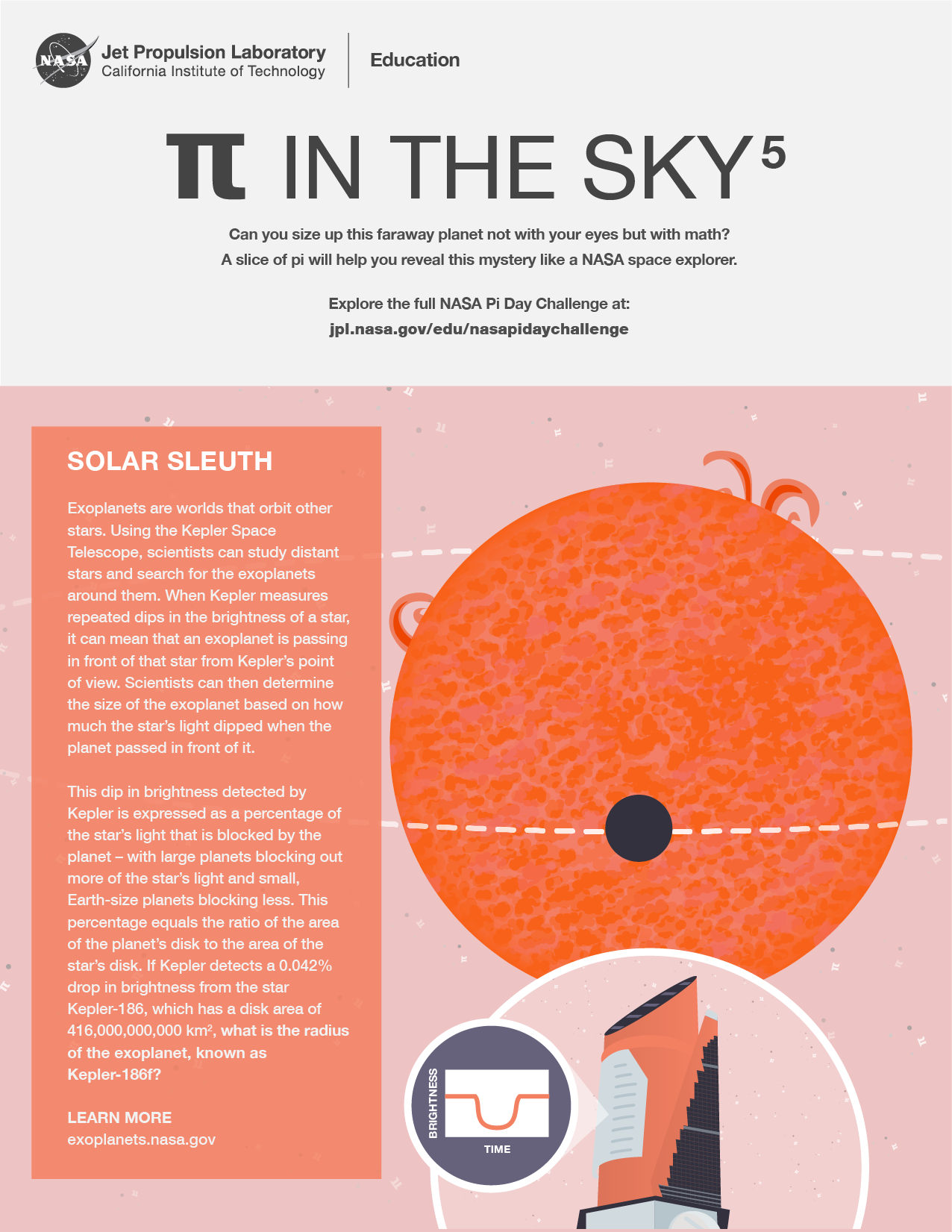 Pi in the Sky 5: Solar Sleuth Handout