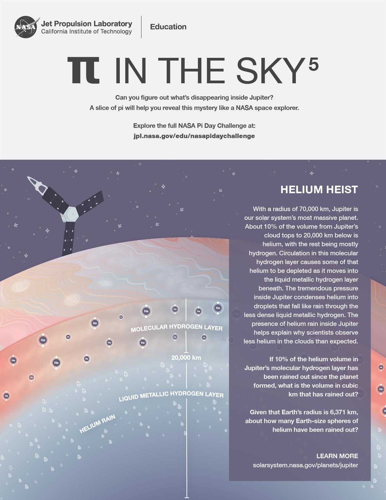 Pi in the Sky 5: Helium Heist Handout