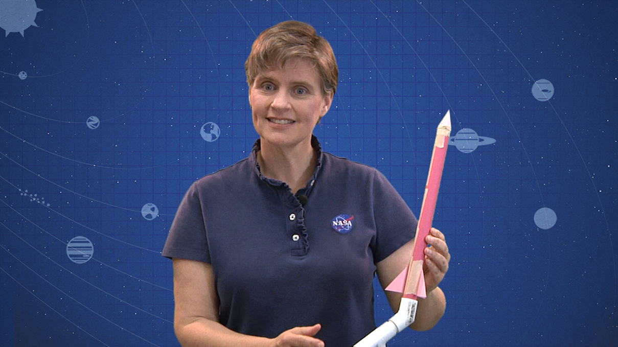 DIY Space: Stomp Rockets - Part 1 video