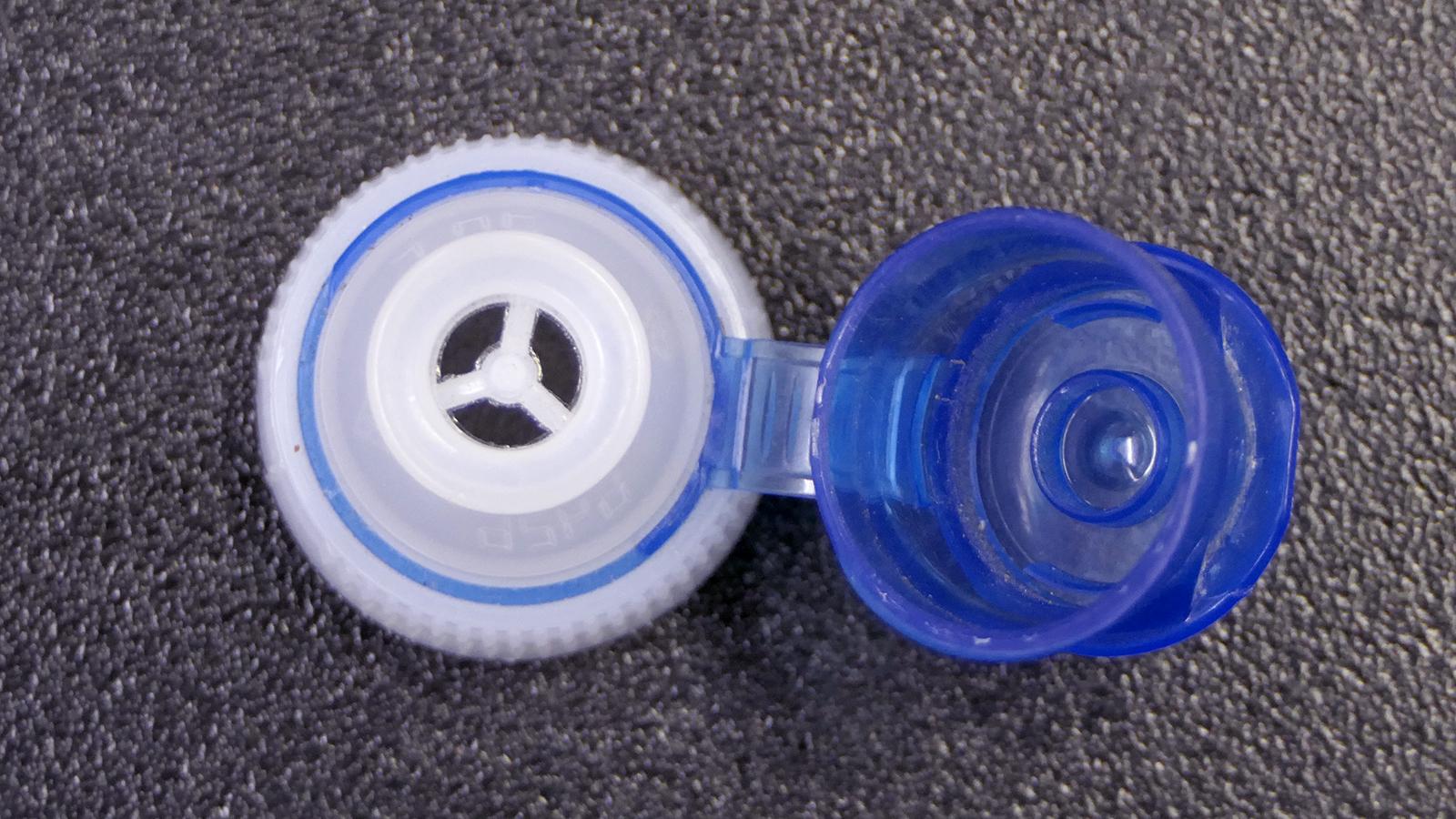 flip-top lid