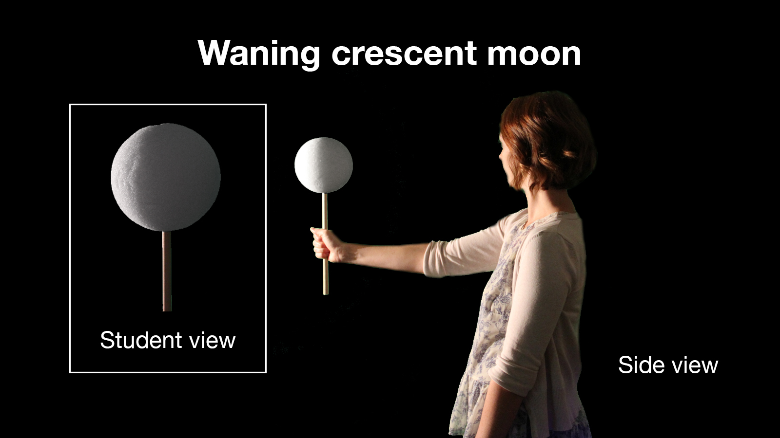Waning Crescent – Moon Phases Activity from NASA-JPL Education
