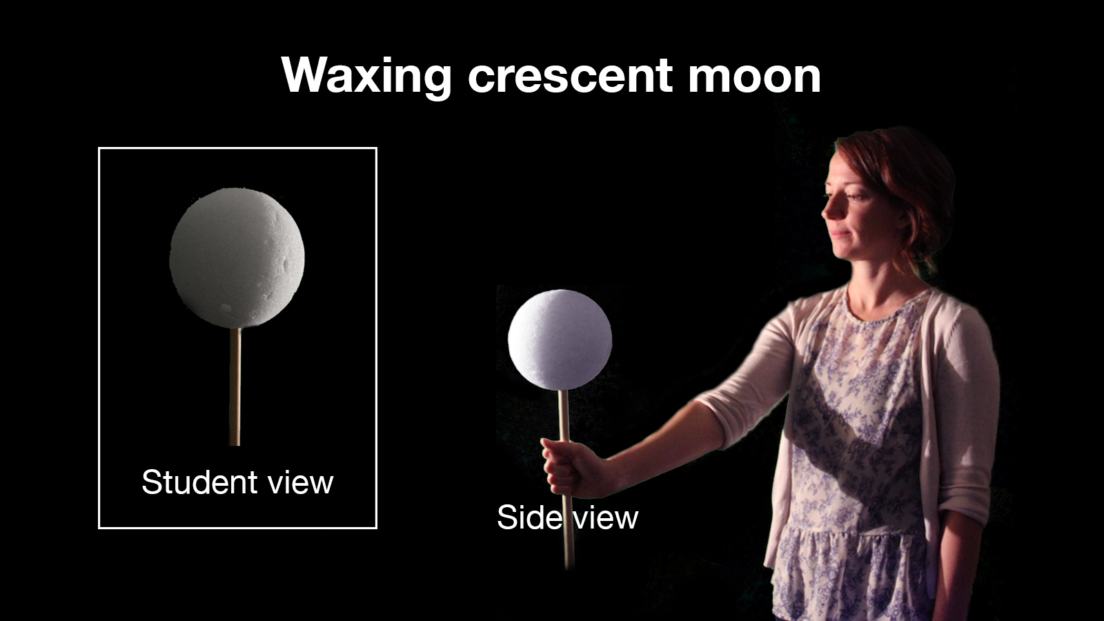 Waxing Crescent – Moon Phases Activity from NASA-JPL Education
