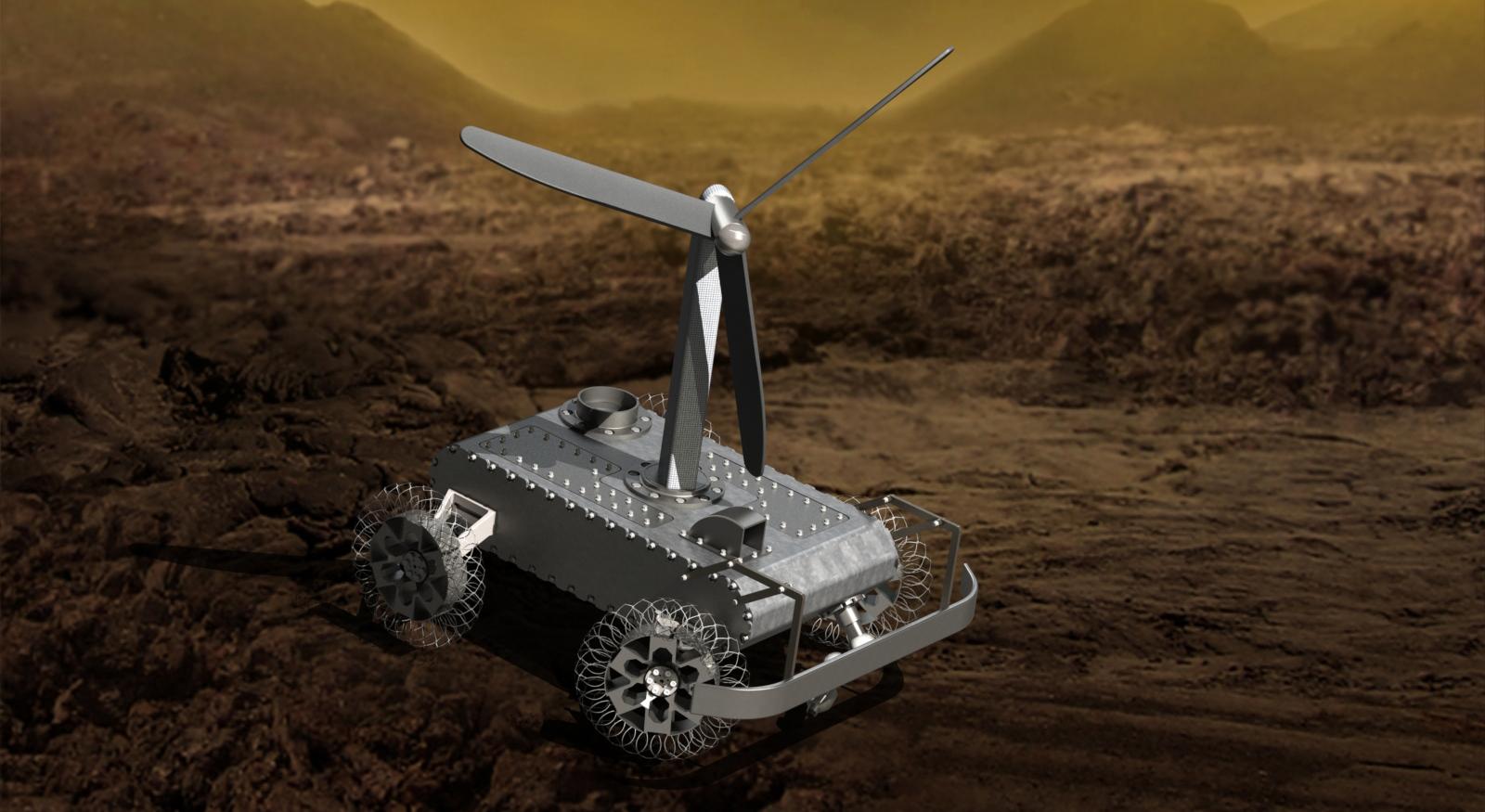 Un rover totalement mécanique sur Vénus ? Mechanical_rover