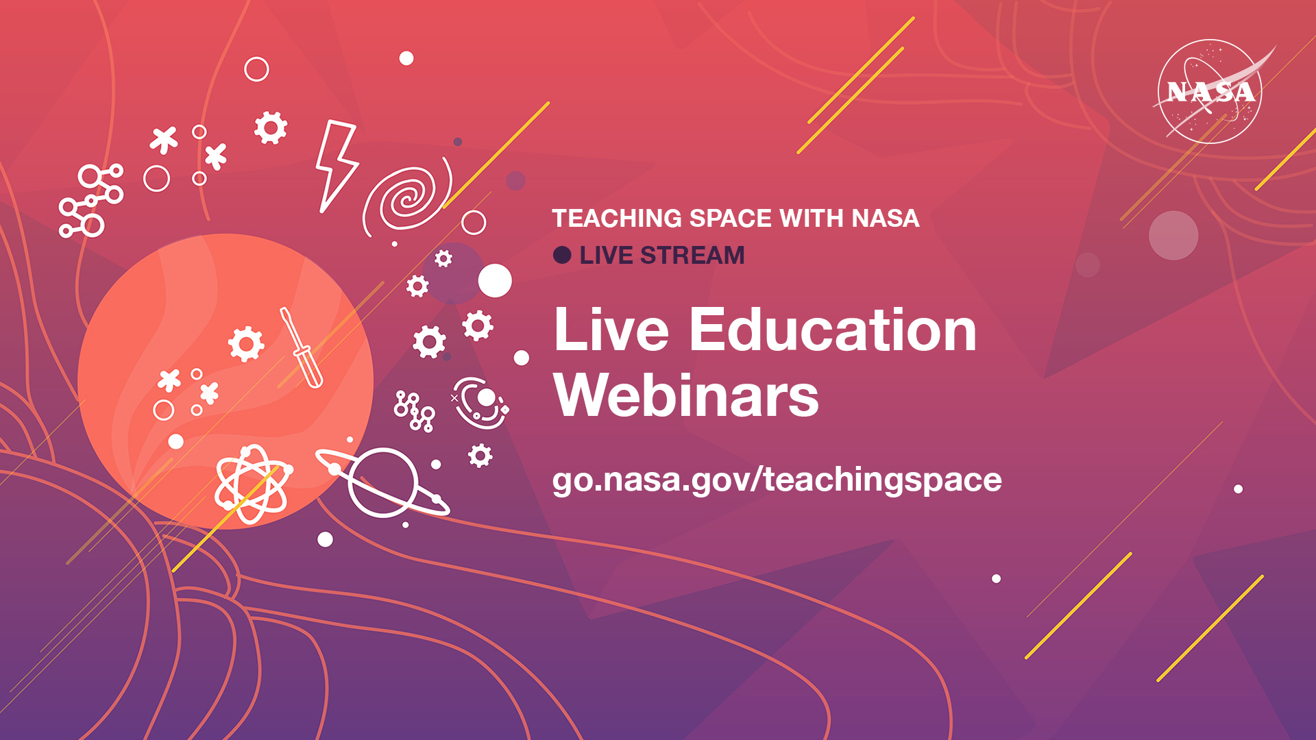 Live Streams: Teaching Space With NASA