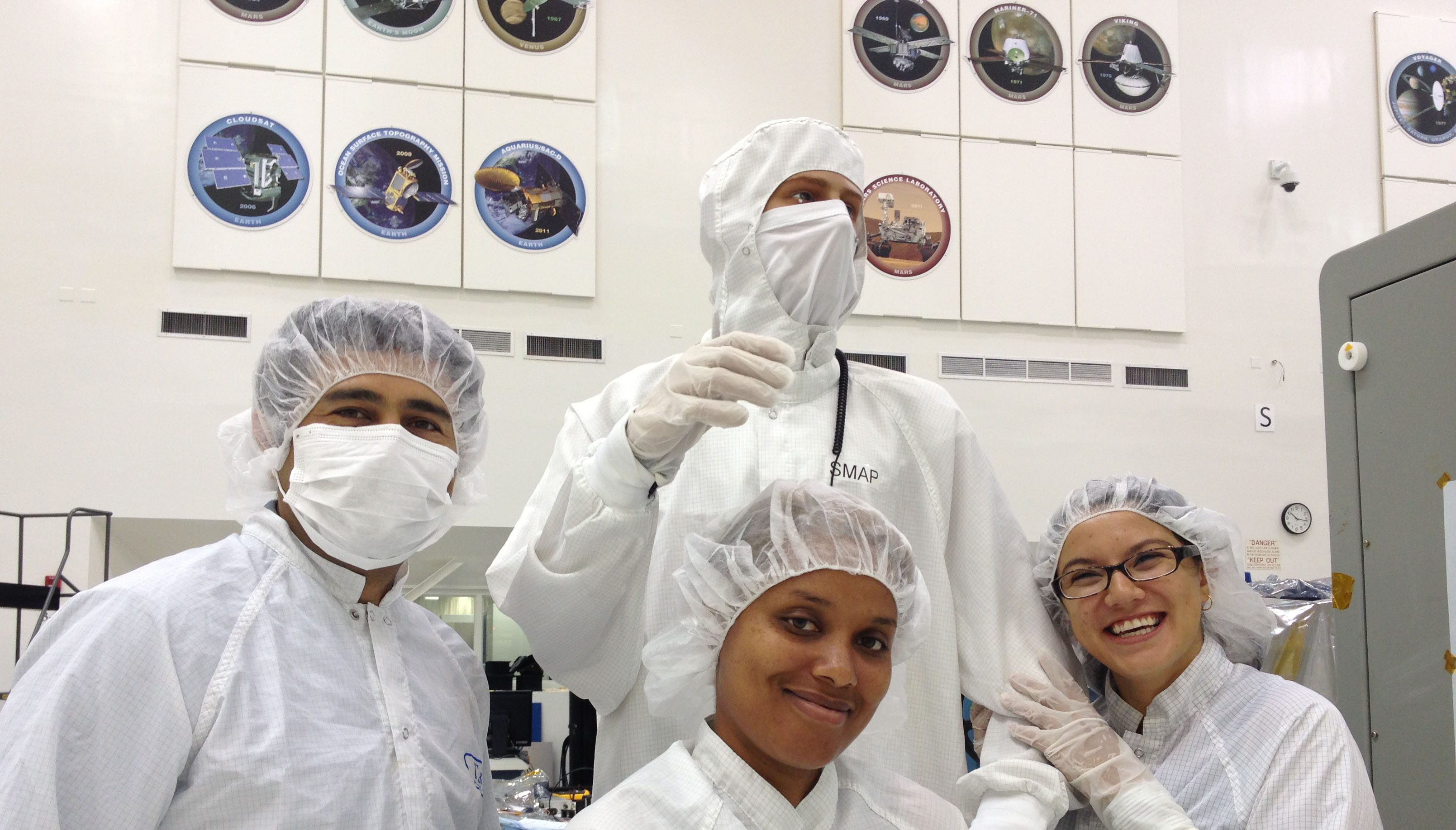 Interns at JPL