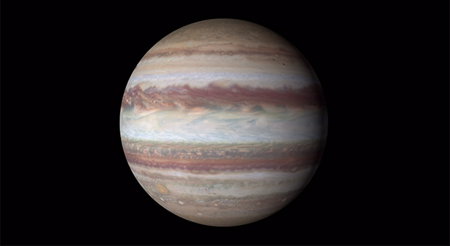 Animation of Jupiter images from Hubble