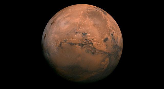 NASA JPL Edu Mars lithograph poster