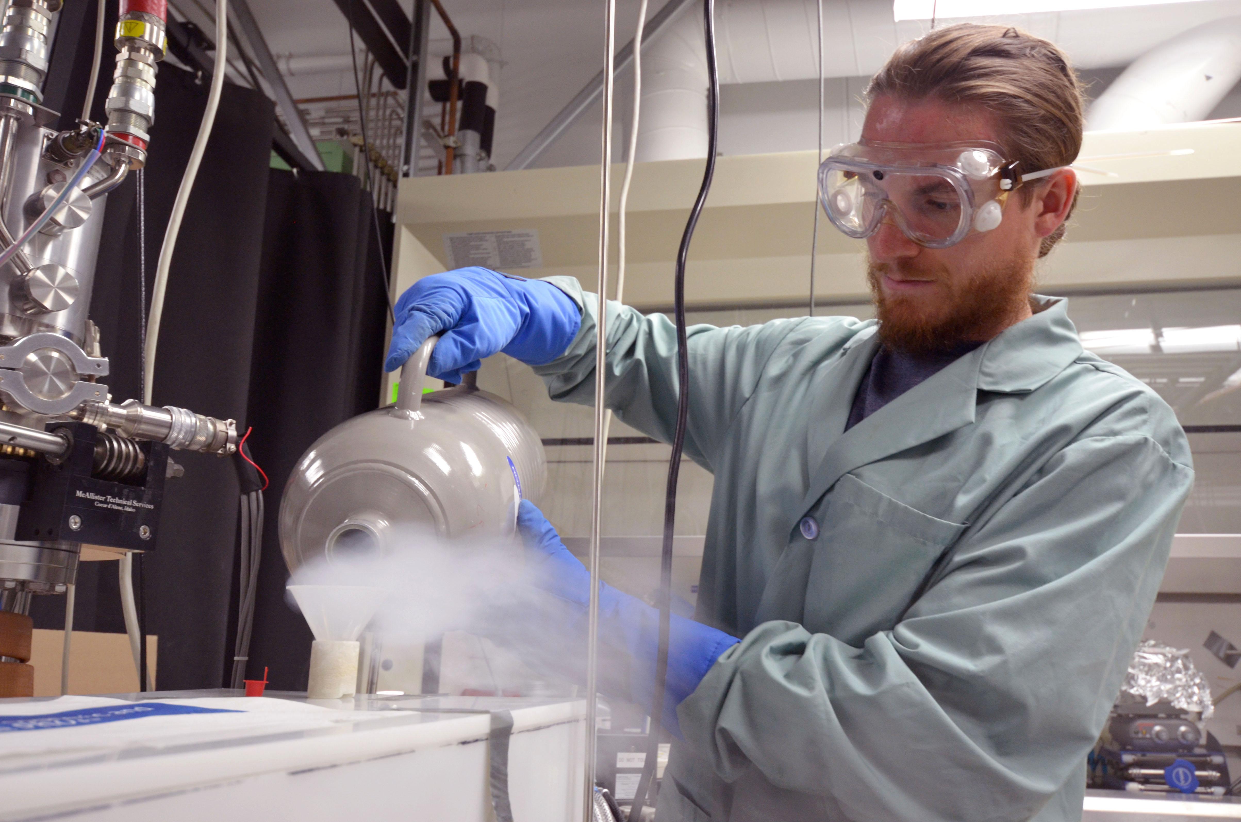 David Dubois at NASA's Jet Propulsion Laboratory