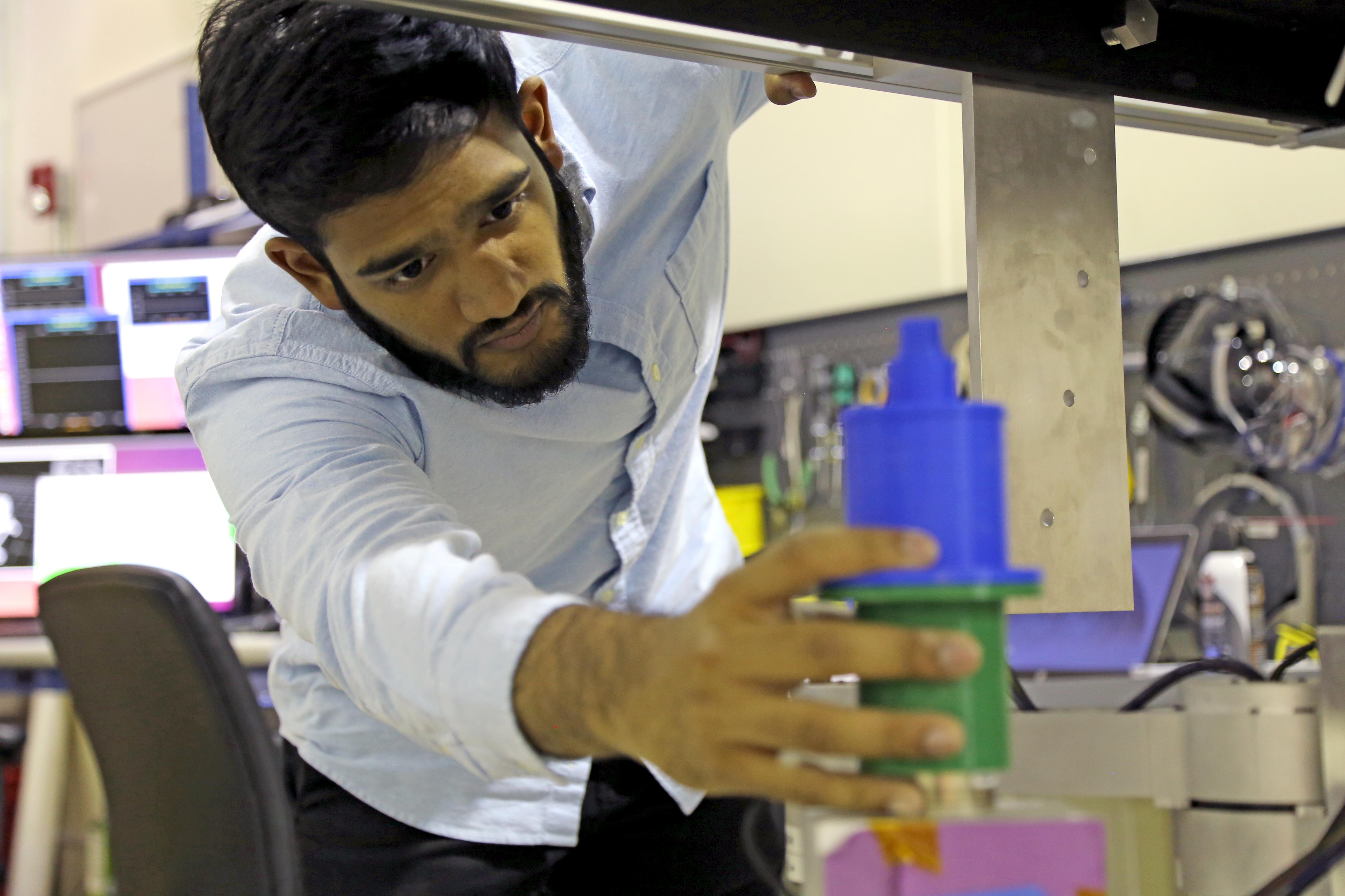Nirmal Patel at NASA's Jet Propulsion Laboratory