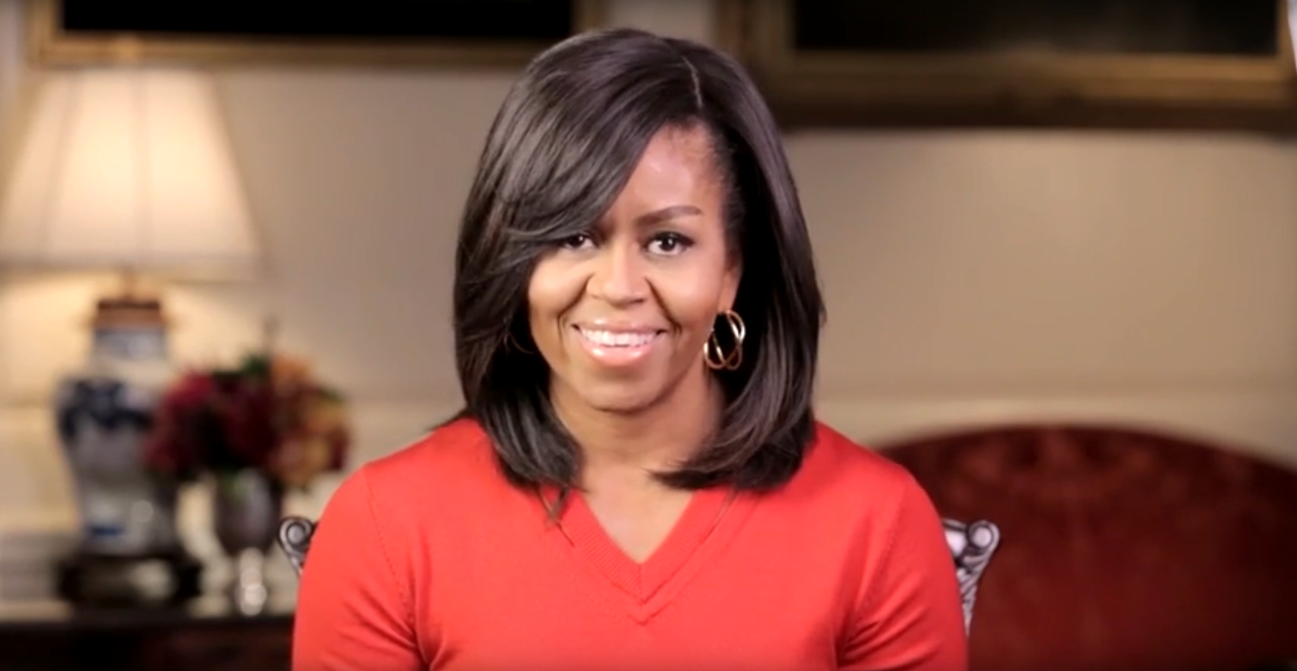 Video of Michelle Obama speaking about Museum Day Live 2016