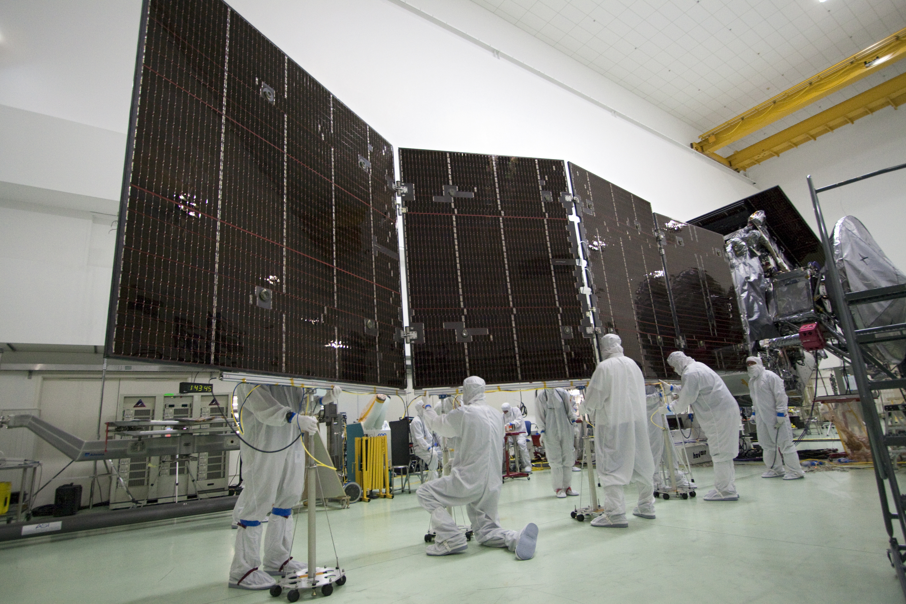NASA's Juno spacecraft being prepped for launch