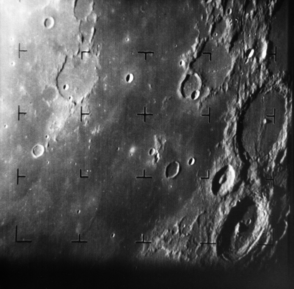 Ranger 7 photo of the moon