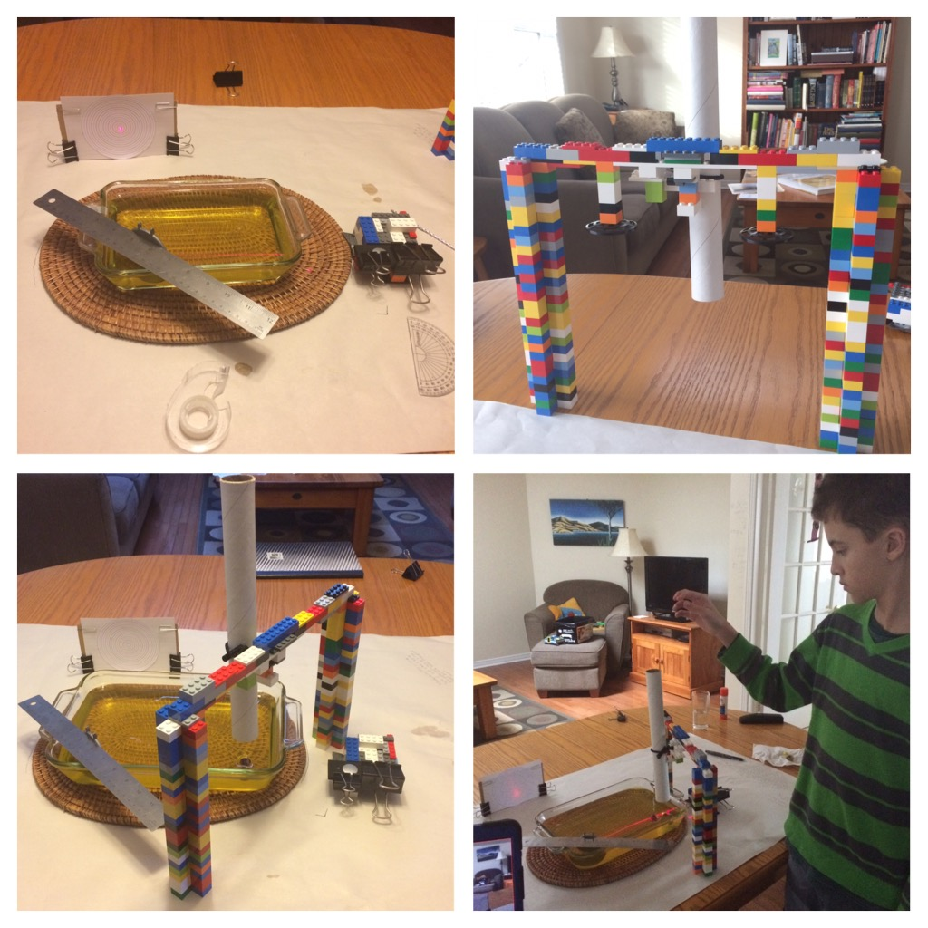 Josh Dove's science fair project on gravitational waves