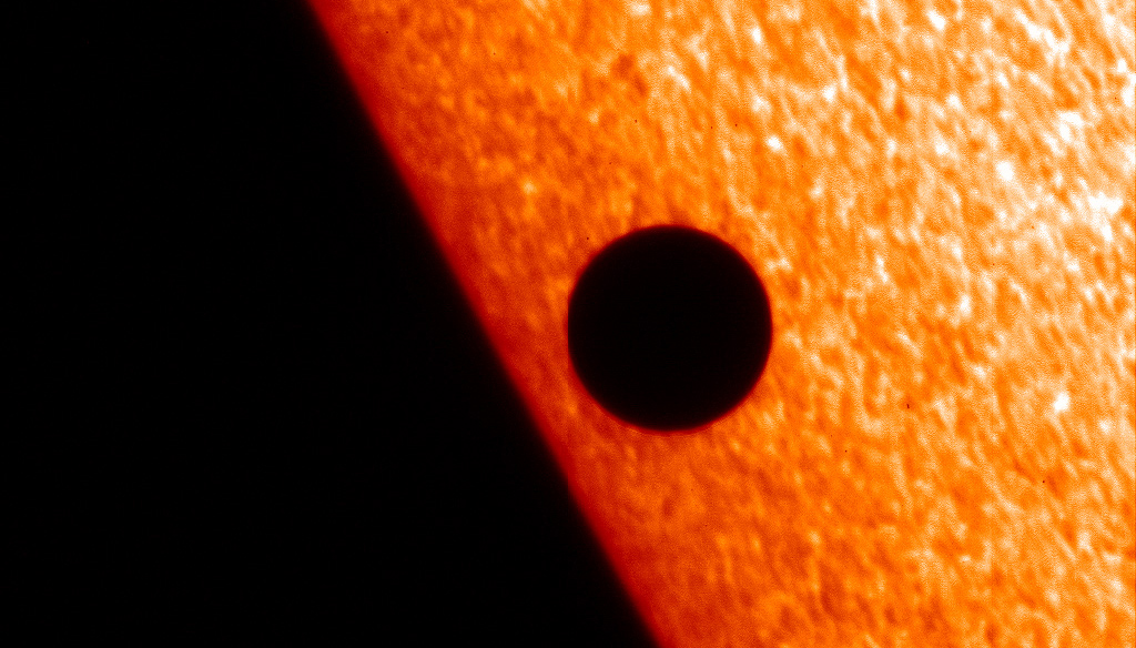 Mercury transits the sun in 2006