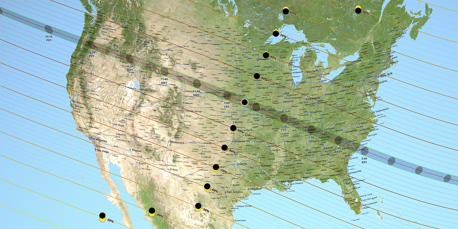 Aug 2017 eclipse map