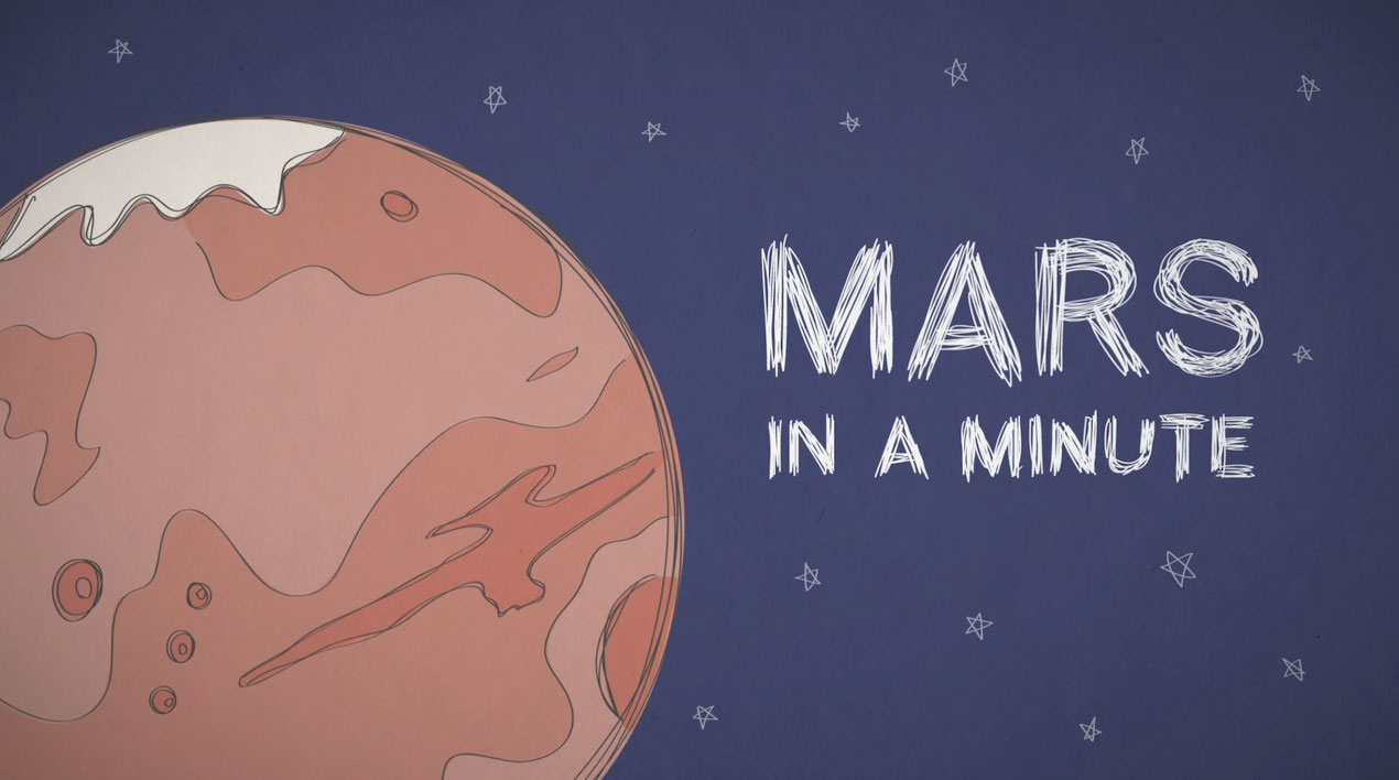 Mars in a Minute video series