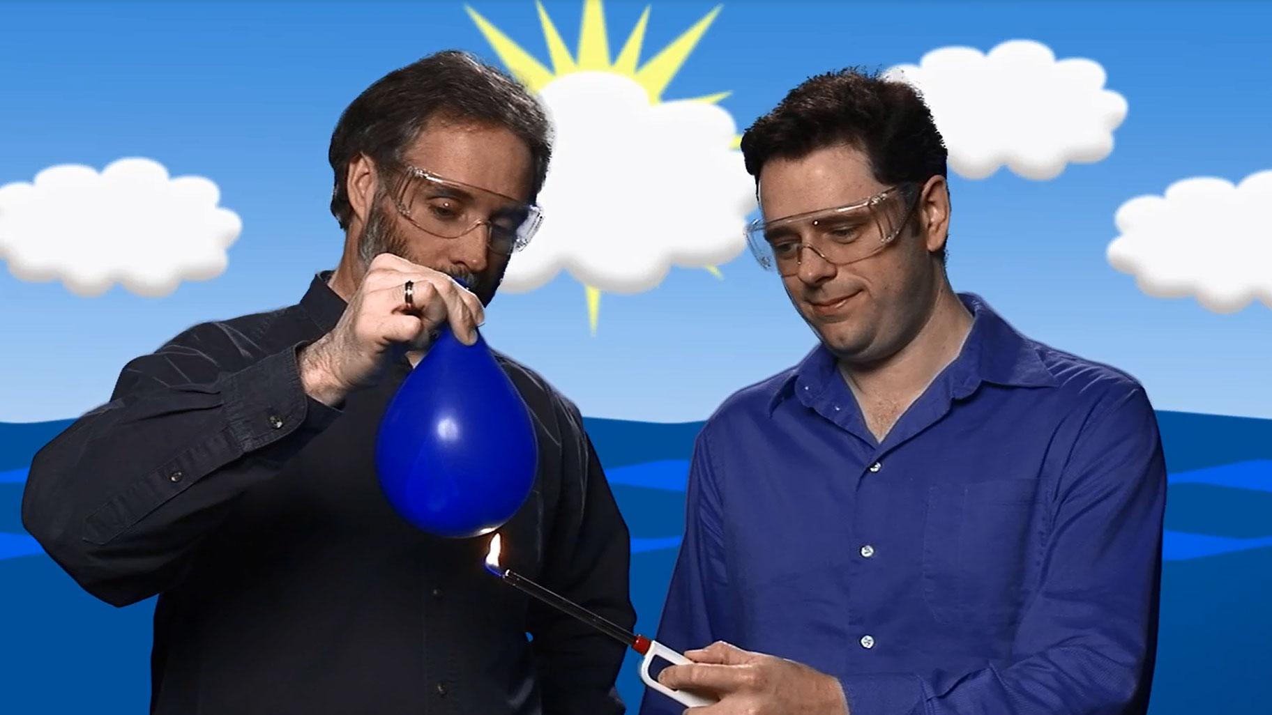 Water Balloon Demonstration Video Tutorial