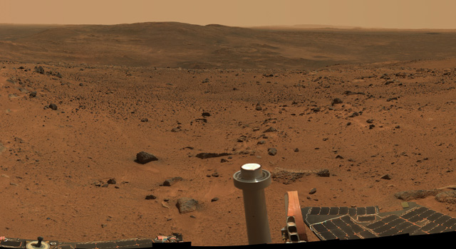 Mars as seen by the MER rover