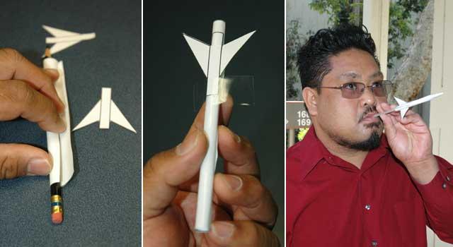 students building paper rocket nasa - photo #10