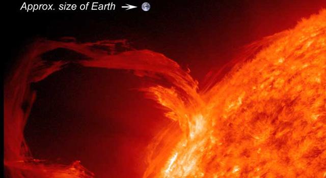 Sun/Earth comparison