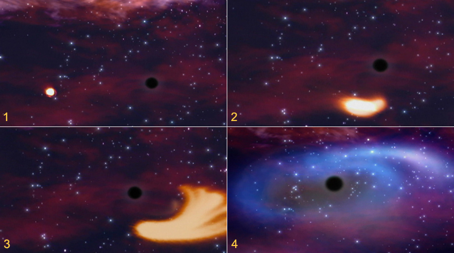 satellite images of black hole - photo #14