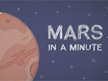 Mars In A Minute Series