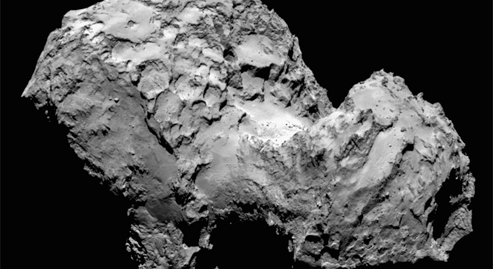 Rosetta – A Lesson on Comets