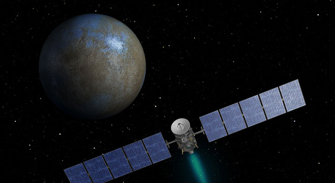Unveiling an Alien World: Dawn at Ceres