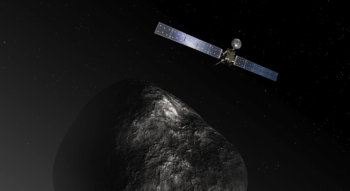 The Rosetta Mission: Comet C-G up Close