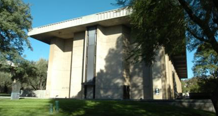 Photo of Caltech's Ramo Auditorium