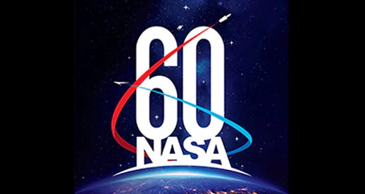 NASA 60 years logo