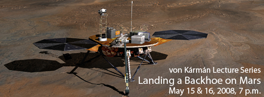 Landing a Backhoe on Mars