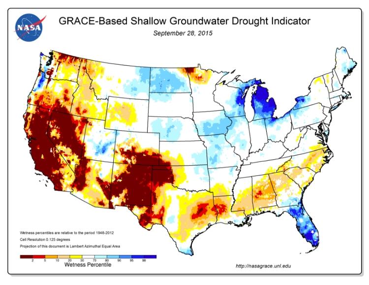 409f140ebc U.S. map, groundwater drought indicator