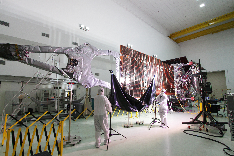 Jupiter Orbit Insertion Press Kit Spacecraft