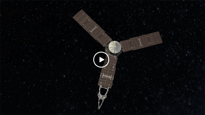 Jupiter Orbit Insertion Press Kit | Spacecraft