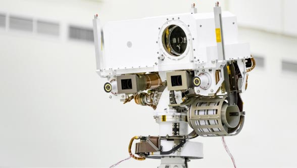 Picture of Mars 2020 rover head