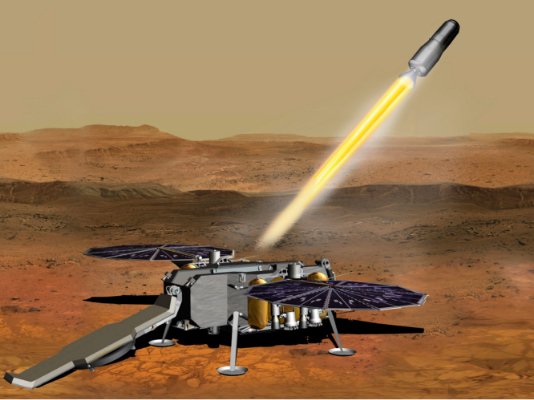 Artist concept of Mars Sample Return