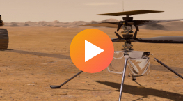 Ingenuity Mars Helicopter Animations Media Reel
