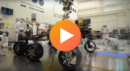 First Drive Test of NASA's Perseverance Rover