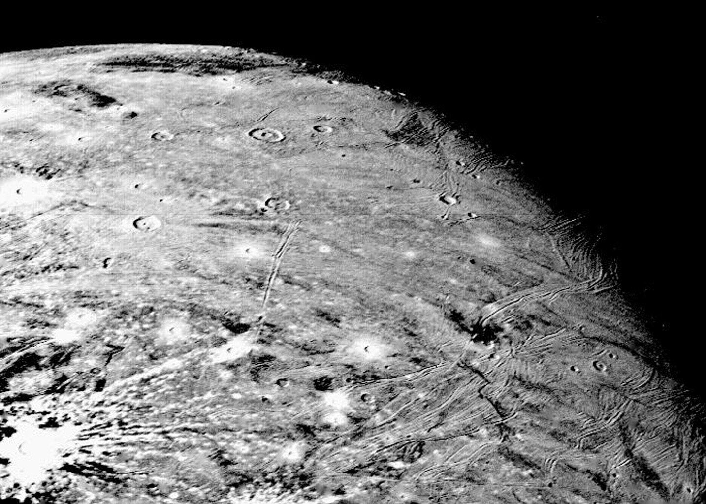 space images ganymede at 150000 miles