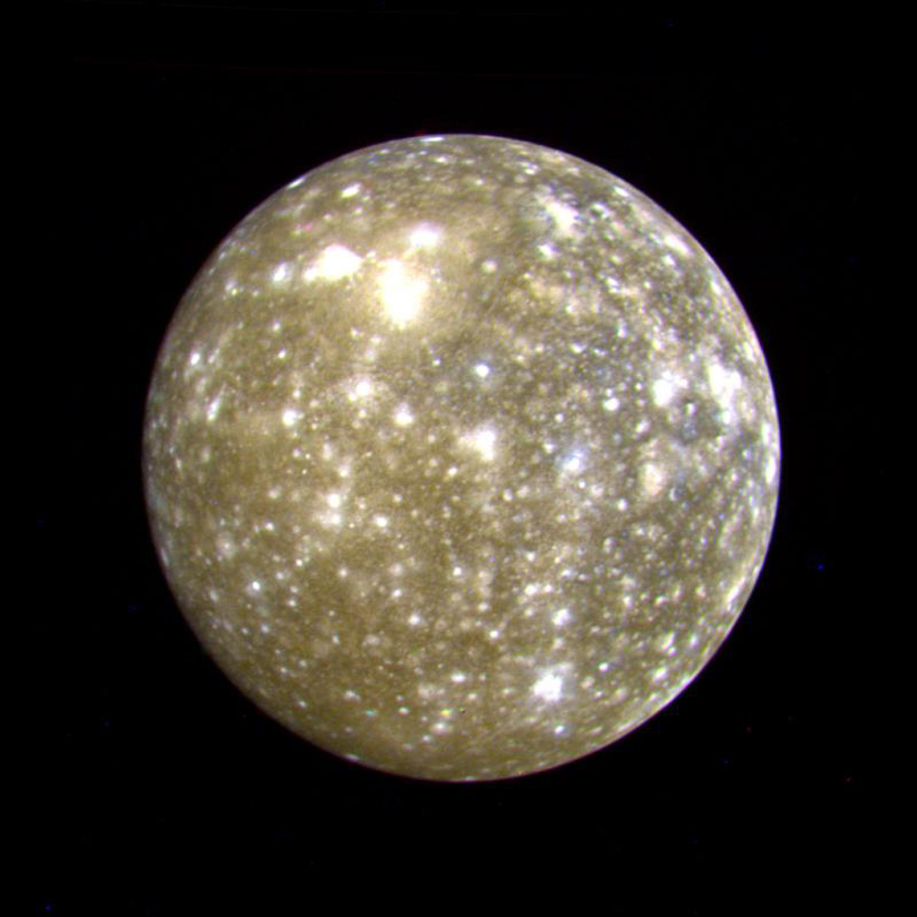 nasa callisto moon - photo #9