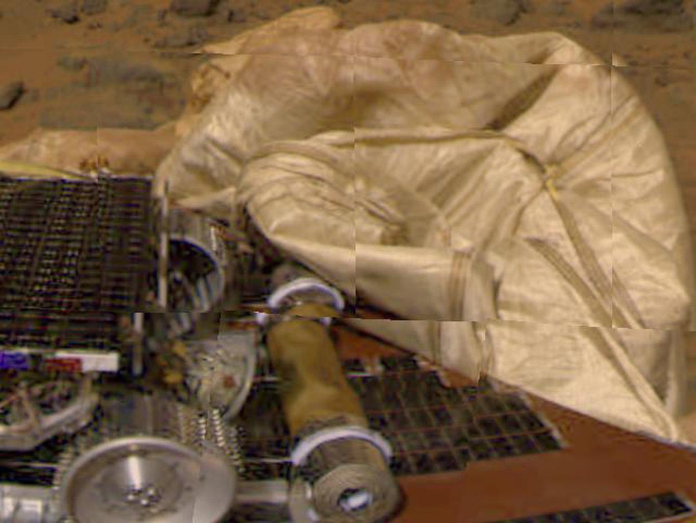 mars rover landing airbags - photo #27
