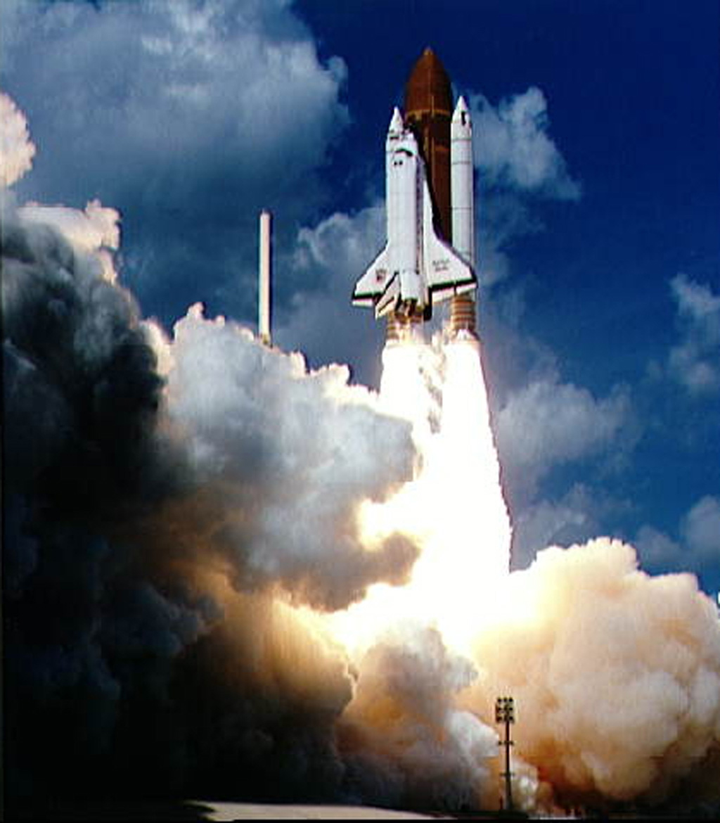 Space Images | Launch of Galileo on STS-34 Atlantis