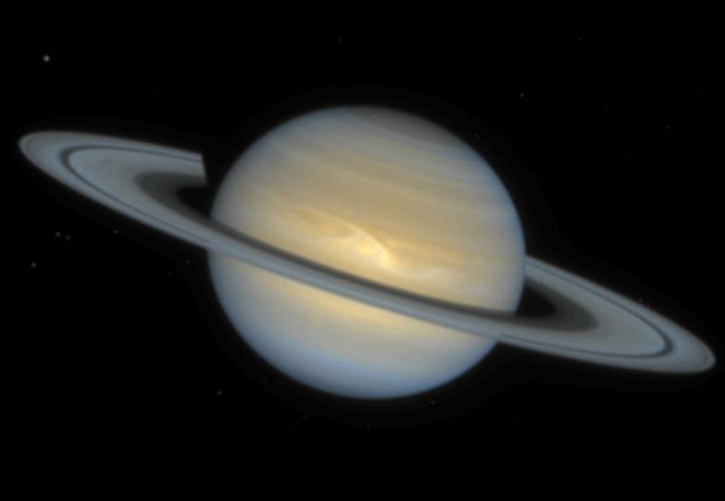 Space Images | Hubble Observes a New Saturn Storm