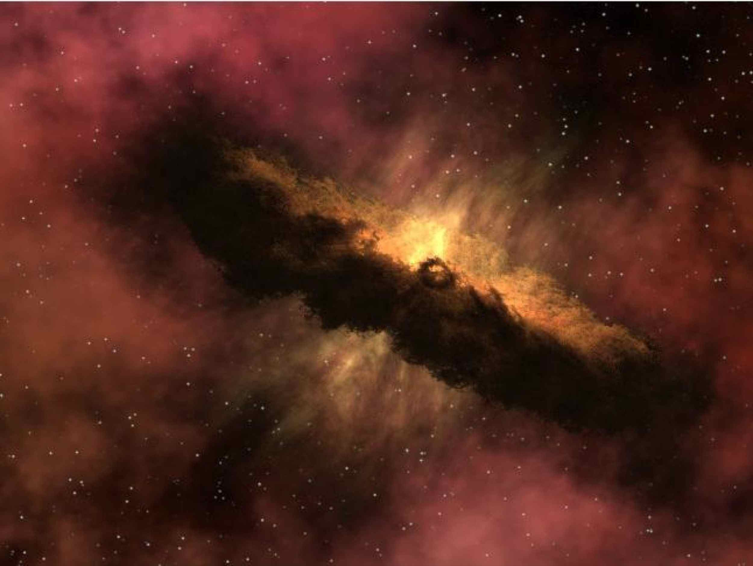 This artist's animation depicts one of the most widely accepted theories pertaining to the origin of comets. This image is courtesy of NASA's Spitzer Science Center at the California Institute of Technology, Pasadena, Calif.