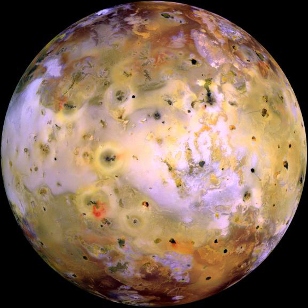 NASA's Galileo spacecraft acquired its highest resolution images of Jupiter's moon Io on 3 July 1999 during its closest pass to Io since orbit insertion in late 1995.