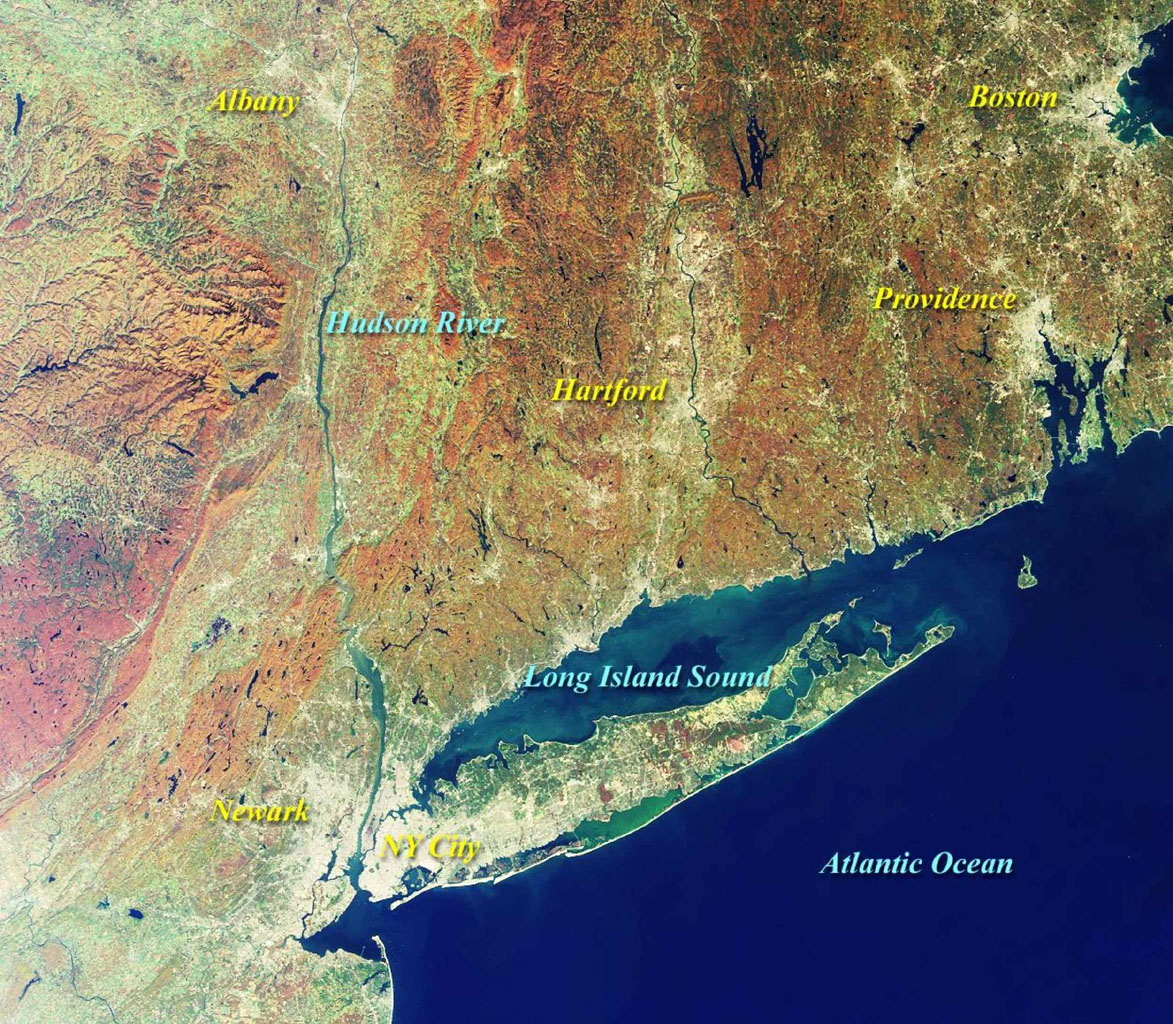 Space Images | MISR Views New York and Southern New England